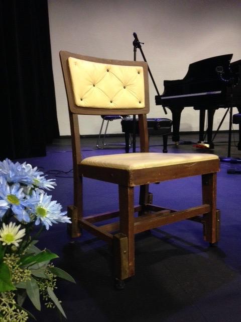 Glenn's chair