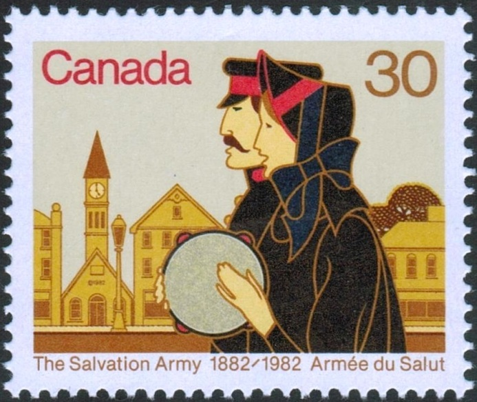 salvation army stamp