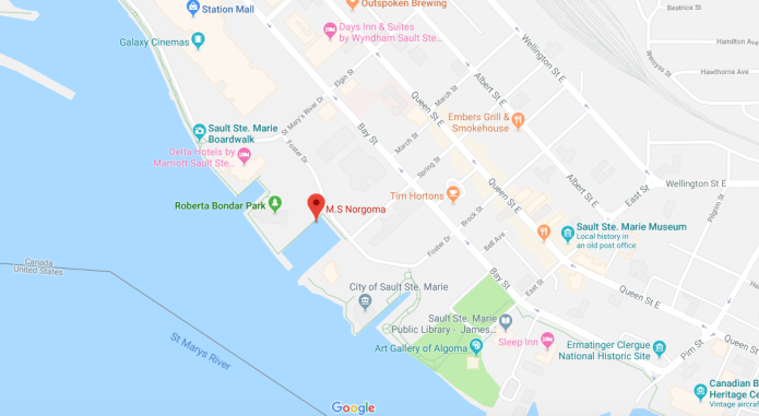map of Soo waterfront.png