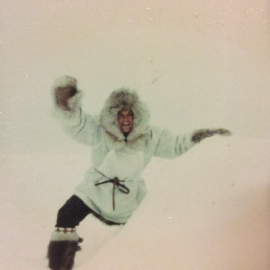 Dad in the Arctic